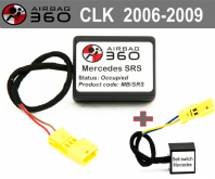 CLK  Front Passenger Seat mat Occupancy Sensor, occupied recognition sensor emulator